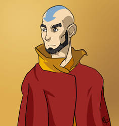 Avatar Aang by achanowitz