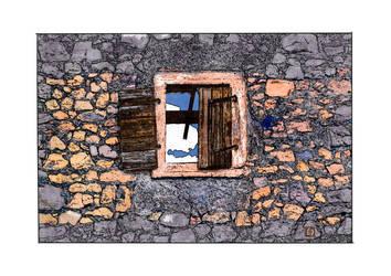 Windows_AV2-The dead village by StephanWhite