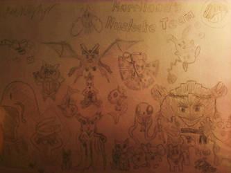 Marriland's Pokemon Nuzlocke Team by ZeroJulius