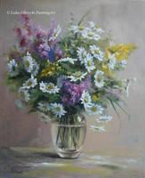 Bouquet of wild flowers by Lidmar