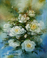 Flowers - Roses Impression by Lidmar