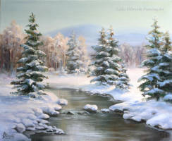 Winter in the Carpathians by Lidmar