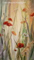 Poppies, Meadow - Impression by Lidmar