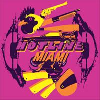 Tee Design - Hotline Miami by pedro-lee