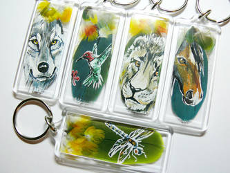 Totem Keychains by dittin03