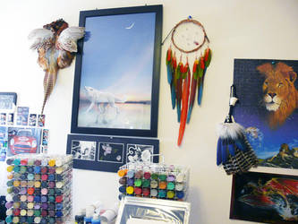 Studio Wall by dittin03