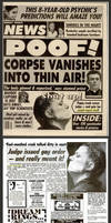 Weekly World News: Thief Gets Mouth Taped Shut by renderedspeechless