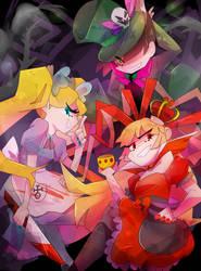 .:CE:. PPnK Halloween by KazunaPikachu