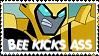 Bee Kicks Ass by higher-flyer