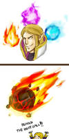 Dota2 - Invoker's meatball by spidercandy