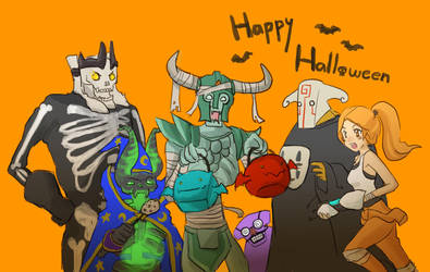 Dota2 - Early Halloween by spidercandy