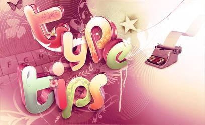 Type tips by Shinybinary
