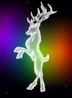 Northern spirit - Deer 1 by Blue-Shadow-Tiger