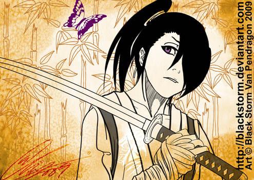 BLEACH: young Byakuya by blackstorm