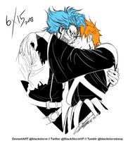 BLEACH: 6/15 - I {heart} GrimmIchi- by blackstorm