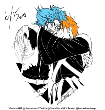 BLEACH: 6/15 - I {heart} GrimmIchi- by blackstorm