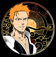 BLEACH: ICHIGO -15/7- My Sunshine - My Black Moon by blackstorm