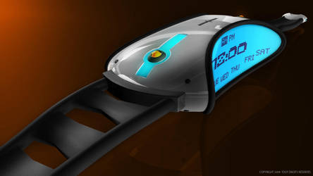 3D concept watch by Reeno-Project