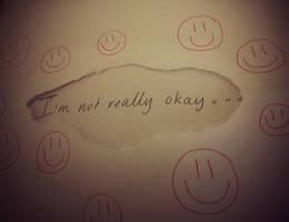 I'm not okay by Fudgee0