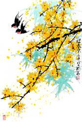 April by TaoBishu