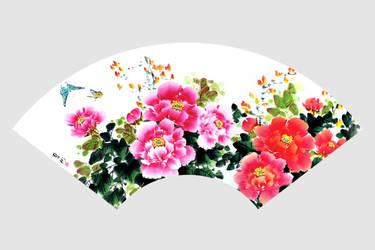 Flower Fan by TaoBishu