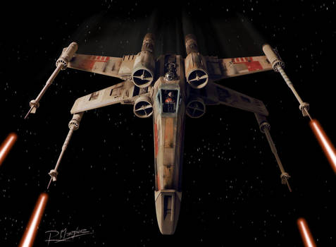 X-Wing Revisited Red 5 by Hikaru84