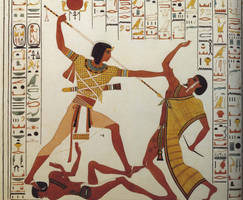 Ancient Egypt- a Victory Mural by lichtie