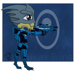 Vazar of the Blue Suns by Mudzi