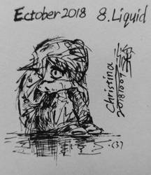 Ectober 2018: 8. Liquid by Rexy2000