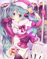 Miku - Merry XMas by TacToki