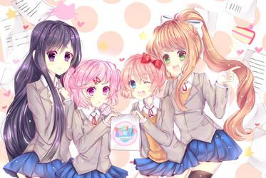 Join the Doki Doki Literature Club by TacToki