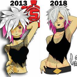 2013 versus 2018 by same2one
