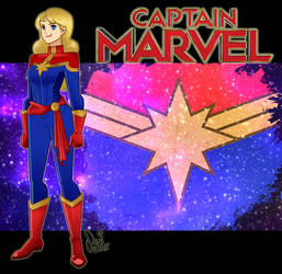 Captain Marvel (Carol Danvers) by same2one