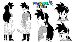 Ranch Model Sheet - #DRAGONBALLRR by DBZTrev
