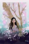 Sakura by KieraJoArt