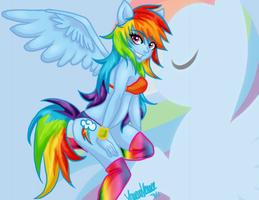 Rainbow Dash by xMetalKitty