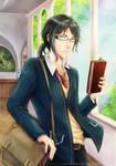 AU! Back to School by lainey-nesu