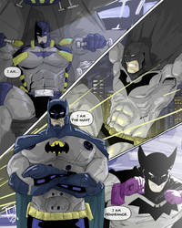 Bruce Wayne Batman by TheoDJ