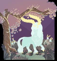 God of Satori by hedgehominoid