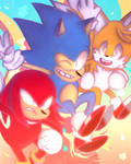 SONIC MANIA ! by orieos
