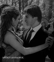 Elena..Damon by NLevaschuk