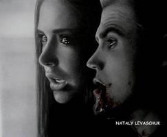 Stefan..Elena by NLevaschuk