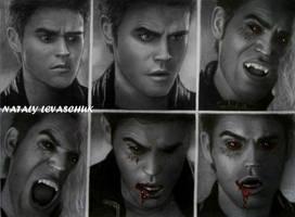 Stefan Salvatore...Ripper by NLevaschuk