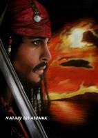 Captain Jack Sparrow by NLevaschuk