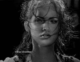 Mikaela (Megan Fox)...Transformers by NLevaschuk