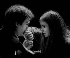 Damon...Elena by NLevaschuk