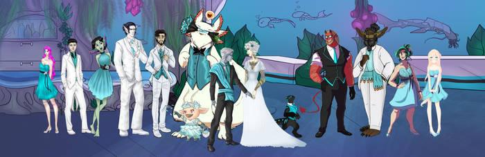 WT: Snowstorm Wedding Party by Sironae