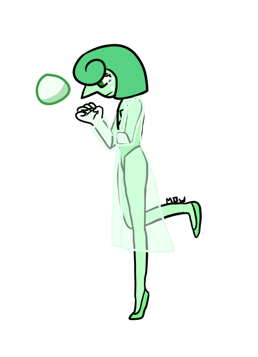 Green Pearl by MapleBranchWing