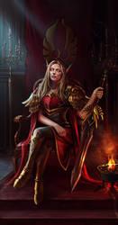 Blood Elf by Nyaka-N