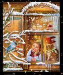 Noelalafenetre by roserika